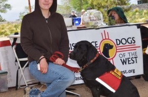 Assistance Dogs of the West Booth