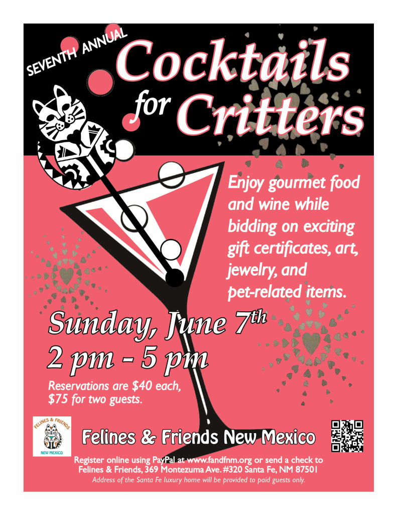 Felines and Friends New Mexico annual fundraiser event 2015