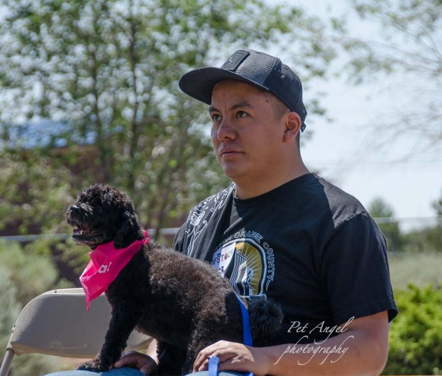 Pet Angel Santa Fe photographed Pet Parade Woofstok 2018 in Santa Fe